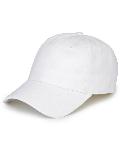 Hall of Fame 6-Panel Performance Cap - White