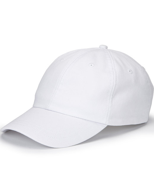 Hall of Fame Ultra Lightweight Twill Hat - White