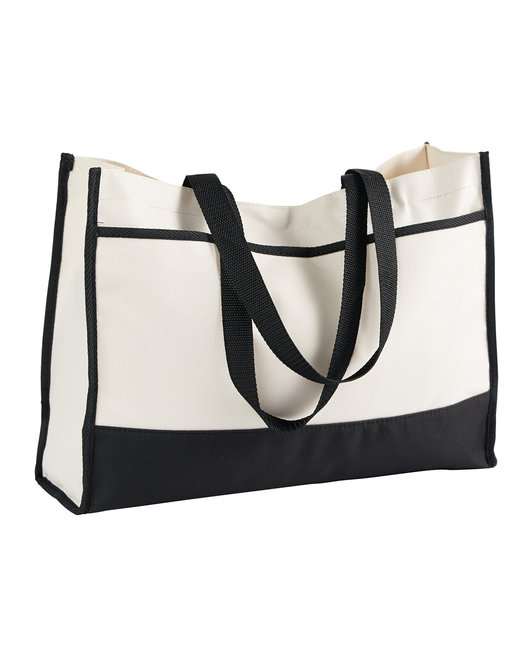 Gemline Contemporary Tote - Black