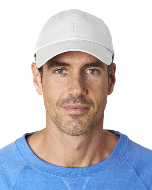 Hall of Fame Ultra-Lightweight 6-Panel Cap - White