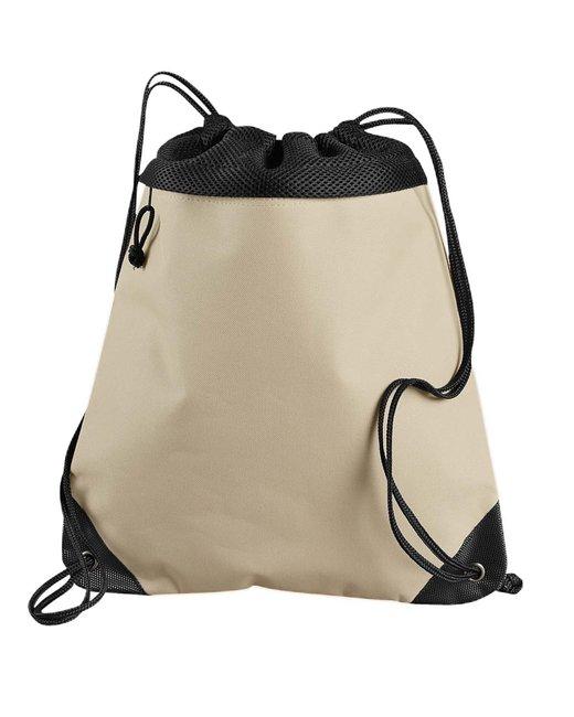 Liberty Bags Coast to Coast Drawstring Pack - Light Tan