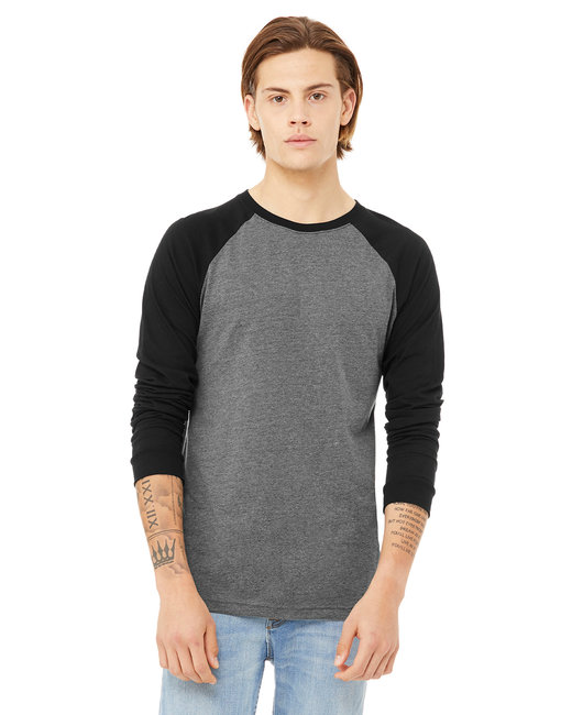 click to view DEEP HEATHER/BLACK