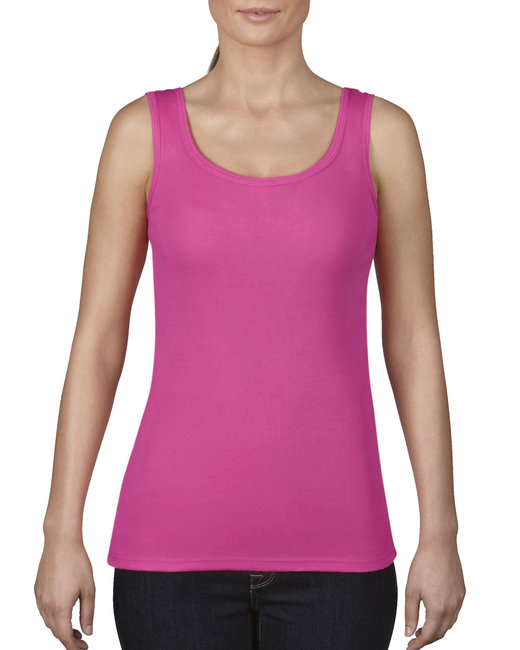 Comfort Colors Ladies' Midweight Tank - Neon Pink