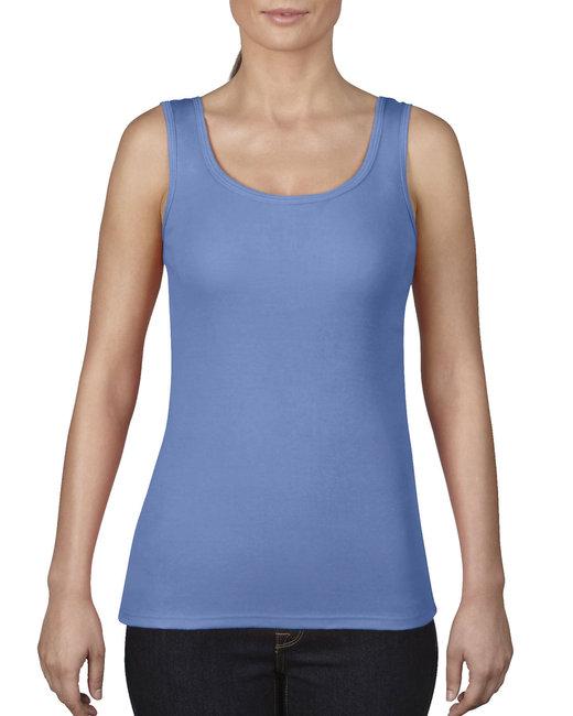 Comfort Colors Ladies' Midweight Tank - Flo Blue