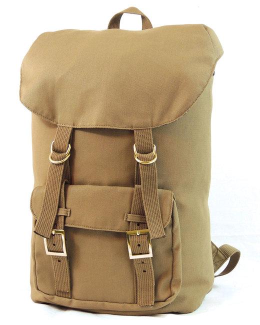 Hardware Voyager Canvas Backpack - Khaki