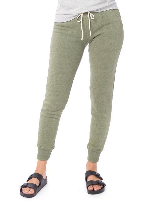 Alternative Ladies' Jogger Eco-Fleece Pant - Eco Tr Army Grn