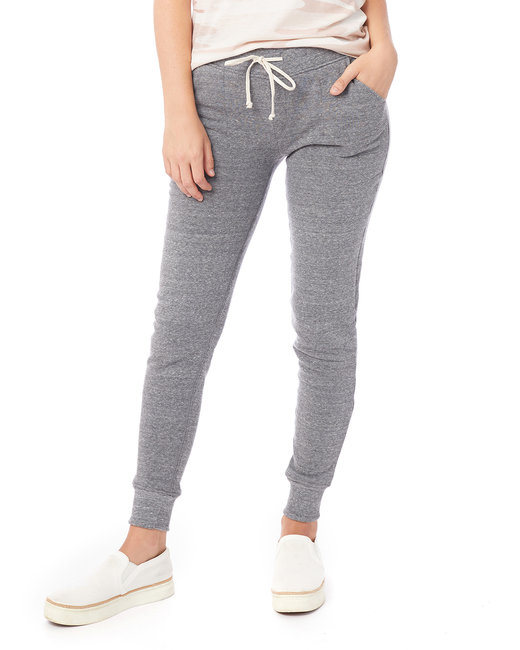 Alternative Ladies' Jogger Eco-Fleece Pant - Eco Grey