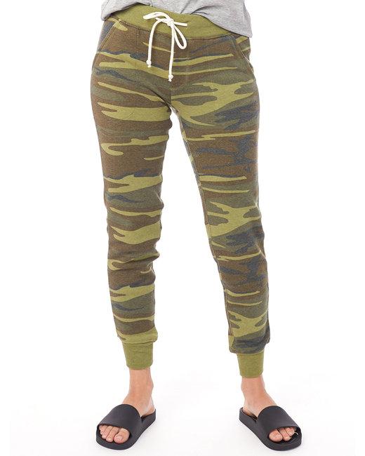 Alternative Ladies' Jogger Eco-Fleece Pant - Camo