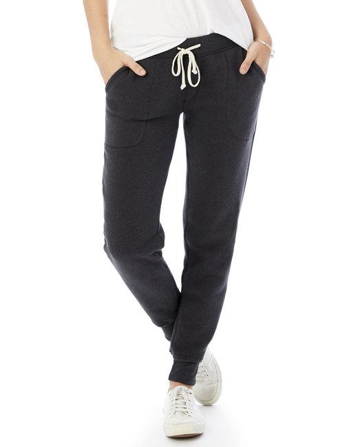 Alternative Ladies' Jogger Eco-Fleece Pant - Eco True Black