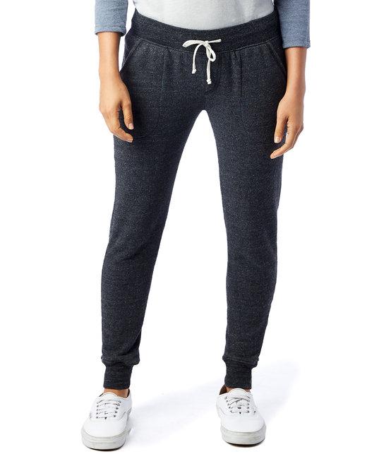 Alternative Ladies' Jogger Eco-Fleece Pant - Eco Black