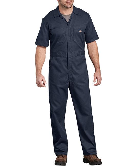 Dickies Men's FLEX Short-Sleeve Coverall - Dark Navy  Xl