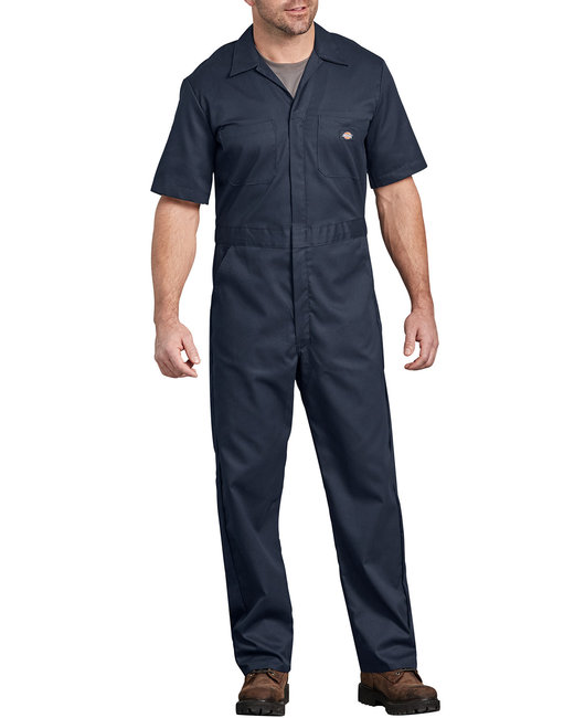 Dickies Men's FLEX Short-Sleeve Coverall - Dark Navy  2Xl