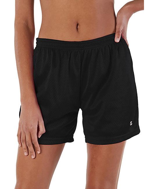 Champion Ladies'  Mesh Short - Black