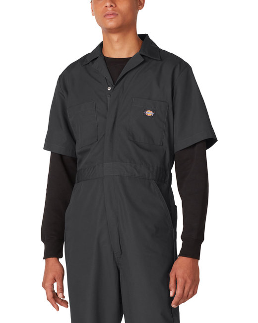 Dickies 5 oz. Short-Sleeve Coverall - Black  S