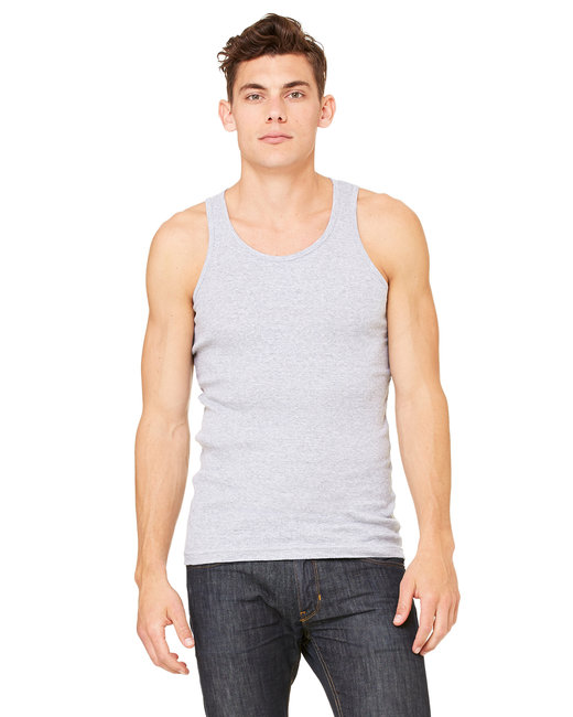 3400C Bella + Canvas Men's 2x1 Rib Tank
