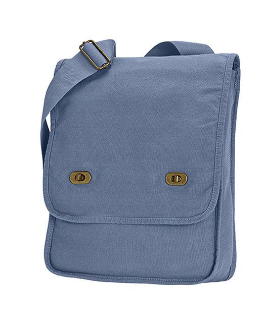 Comfort Colors Canvas Field Bag - Blue Jean