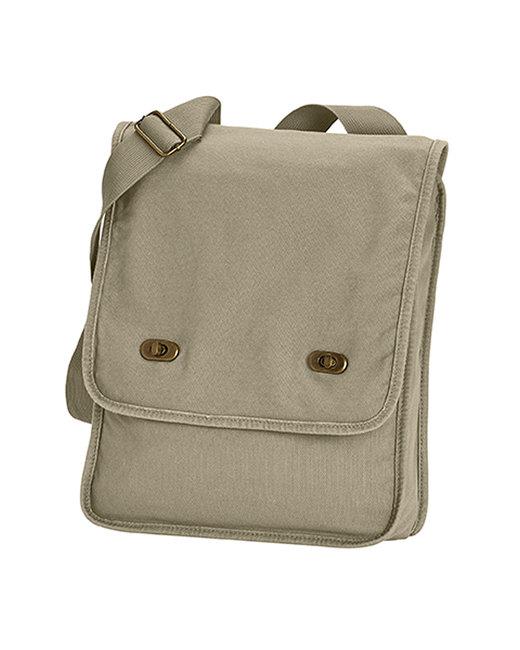 Comfort Colors Canvas Field Bag - Khaki