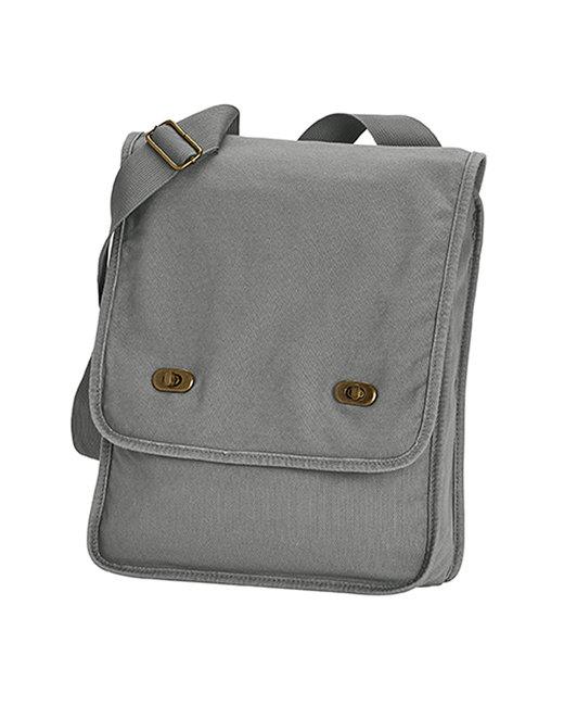 Comfort Colors Canvas Field Bag - Grey