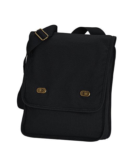 Comfort Colors Canvas Field Bag - Black