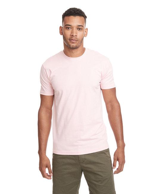 Next Level Men's Cotton Crew - Light Pink
