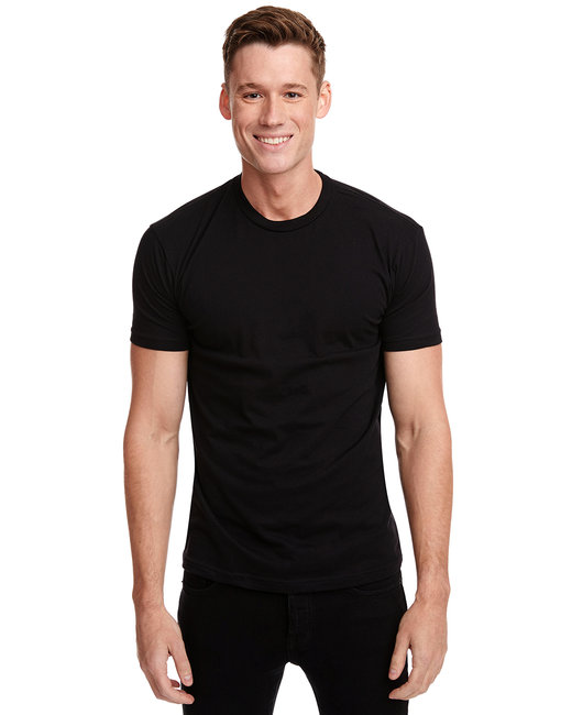 Next Level Men's Cotton Crew - Black