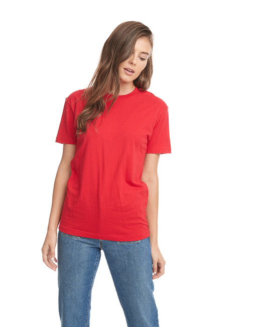 Next Level Men's Cotton Crew - Red