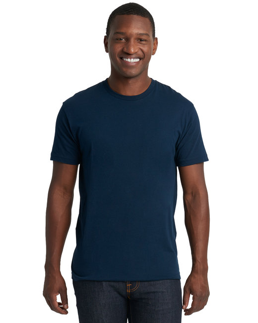 Next Level Men's Cotton Crew - Midnight Navy