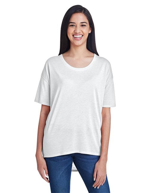 Anvil Ladies' Freedom T-Shirt - White