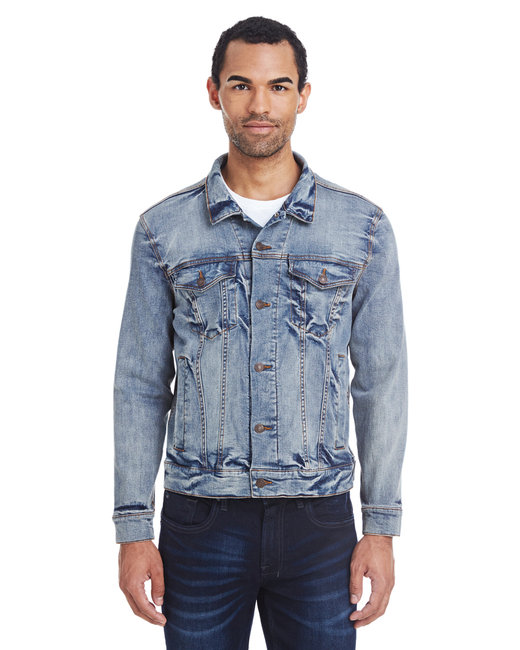 370J Threadfast Apparel Unisex Denim Jacket