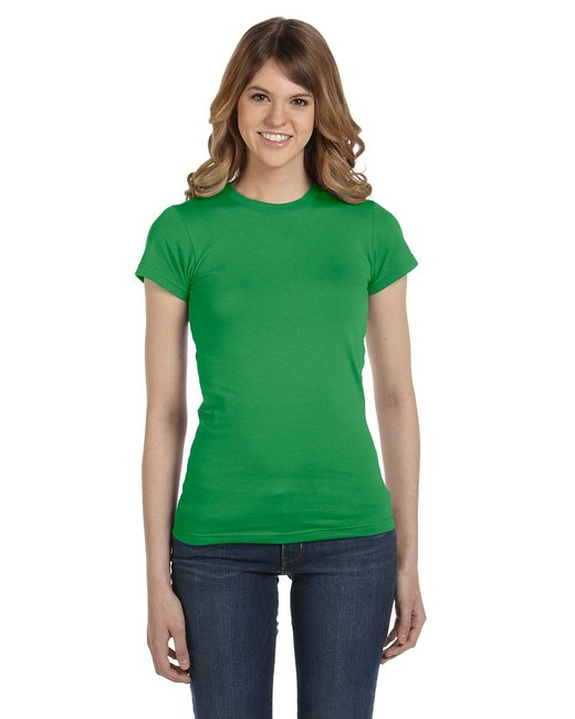 Anvil Ladies' Lightweight Fitted T-Shirt - Green Apple