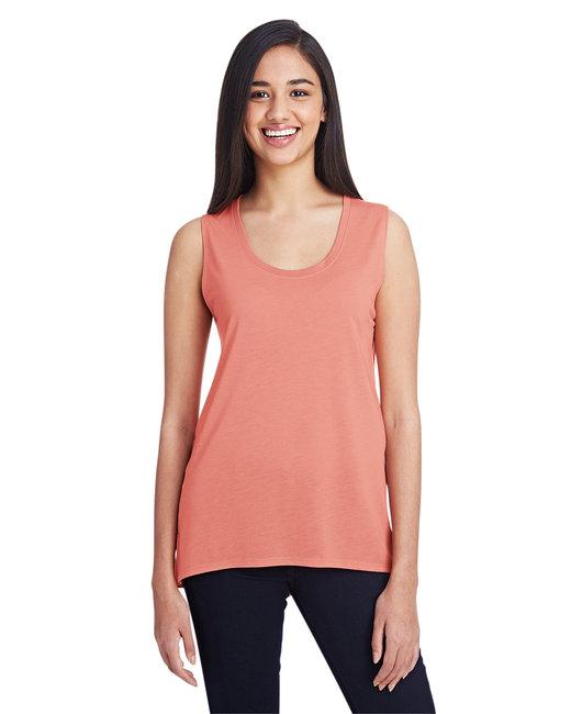 Anvil Ladies' Freedom Sleeveless T-Shirt - Terracotta
