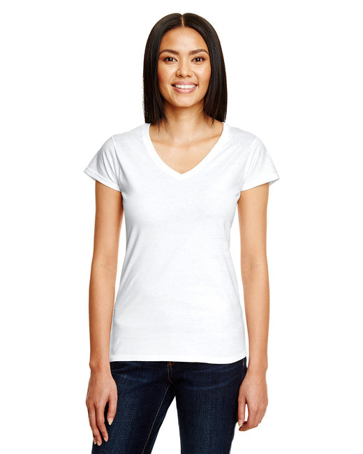 380VL Anvil Lightweight Ladies' Fitted V-Neck Tee