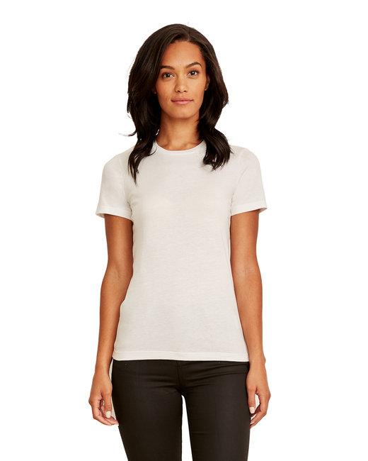 Next Level Ladies' Made in USA Boyfriend T-Shirt - White