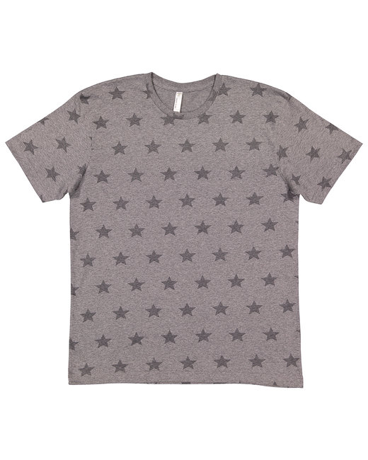Code Five Mens' Five Star T-Shirt - Gran Hthr Star