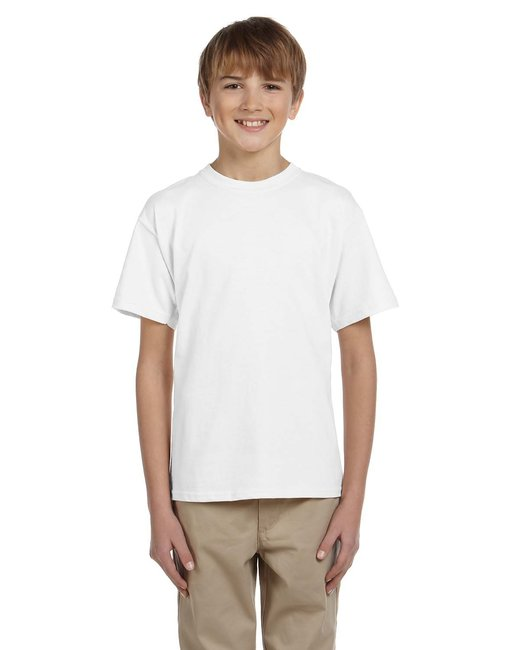 Fruit of the Loom Youth 5 oz. HD Cotton™ T-Shirt - White