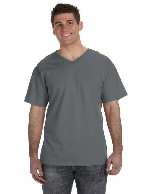 Adult 5 oz. HD Cotton™ V-Neck T-Shirt