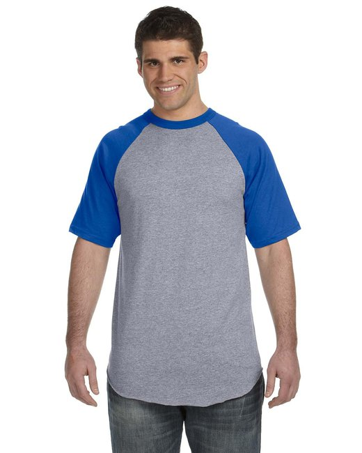 click to view ATHLETIC HEATHER/ROYAL