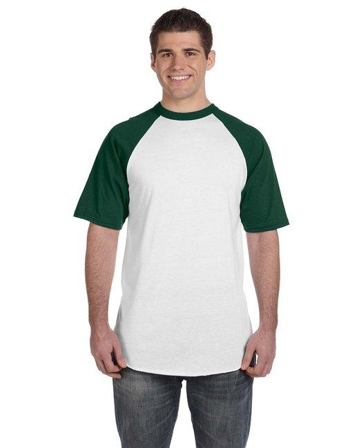 click to view WHITE/DARK GREEN