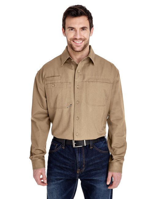 Dri Duck Men's Mason Shirt - Khaki