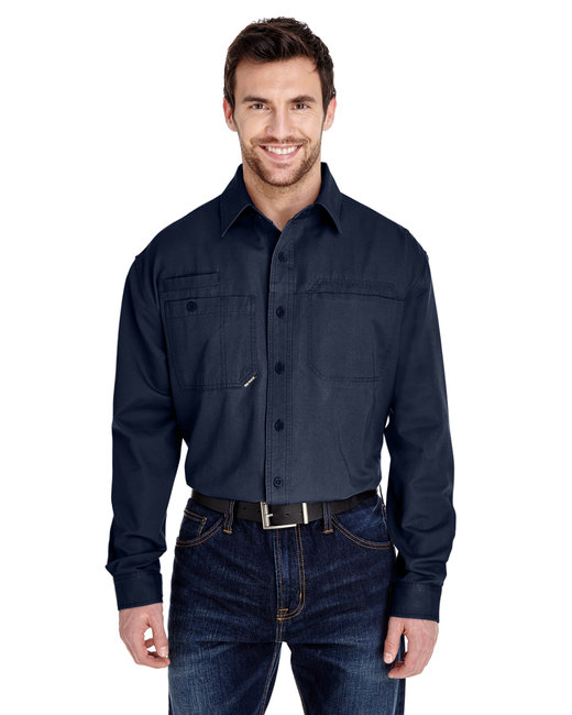 Dri Duck Men's Mason Shirt - Deep Blue