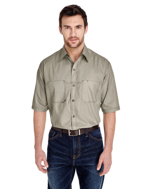 Dri Duck Men's Guide Shirt - Sand
