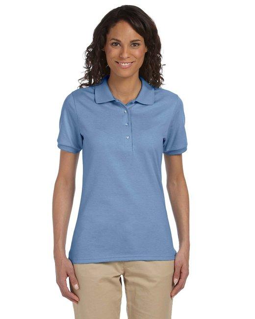 Jerzees Ladies' 5.6 oz. SpotShield™ Jersey Polo - Light Blue