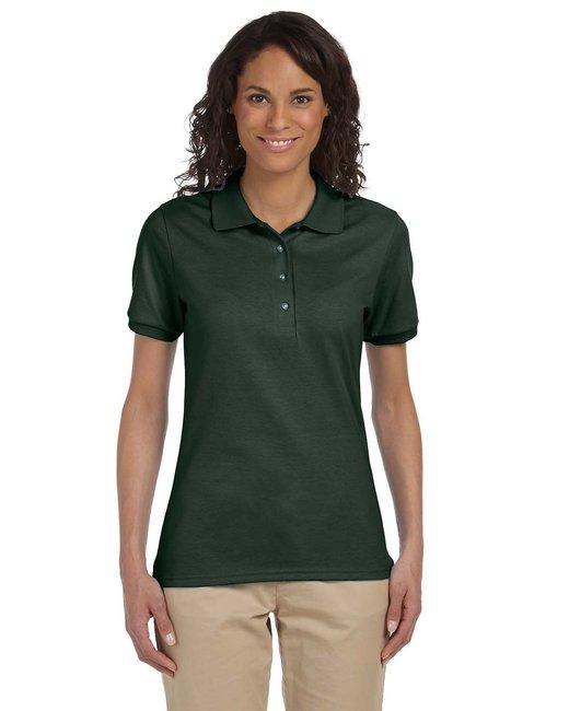 Jerzees Ladies' 5.6 oz. SpotShield™ Jersey Polo - Forest Green