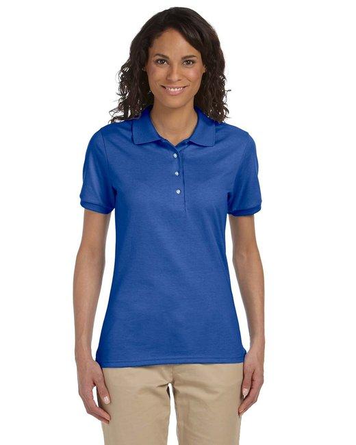 Jerzees Ladies' 5.6 oz. SpotShield™ Jersey Polo - Royal