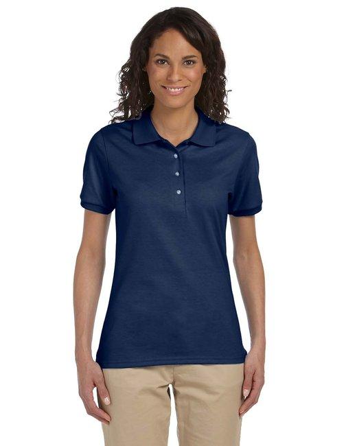 Jerzees Ladies' 5.6 oz. SpotShield™ Jersey Polo - J Navy