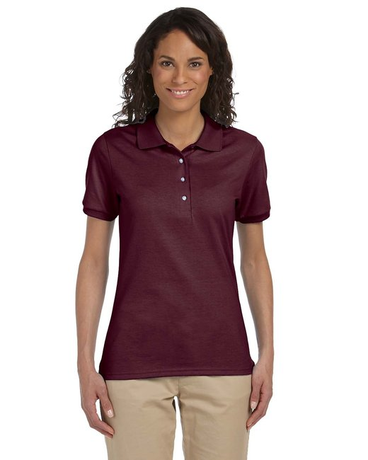 Jerzees Ladies' 5.6 oz. SpotShield™ Jersey Polo - Maroon