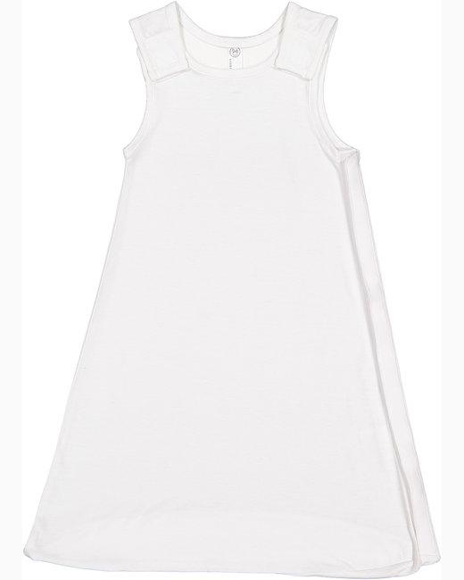 Rabbit Skins Infant Premium Jersey Wearable Blanket - White