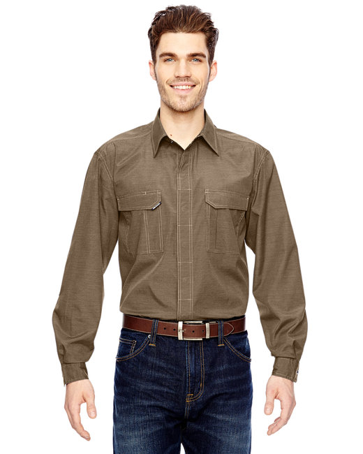 Dri Duck Men's Field Shirt - Khaki