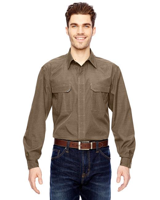 Dri Duck Men's Field Shirt - Khaki