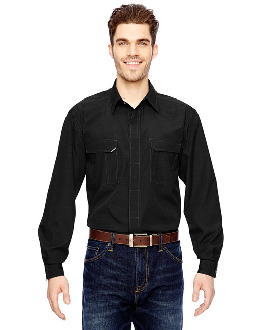 Dri Duck Men's Field Shirt - Black